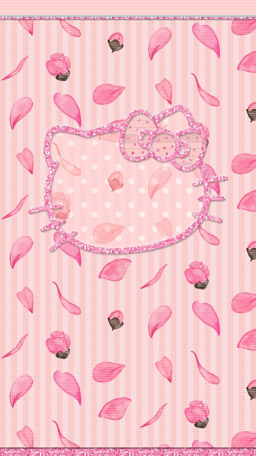 Cherry Blossom Hello Kitty Wallpaper Iphone Hello Kitty