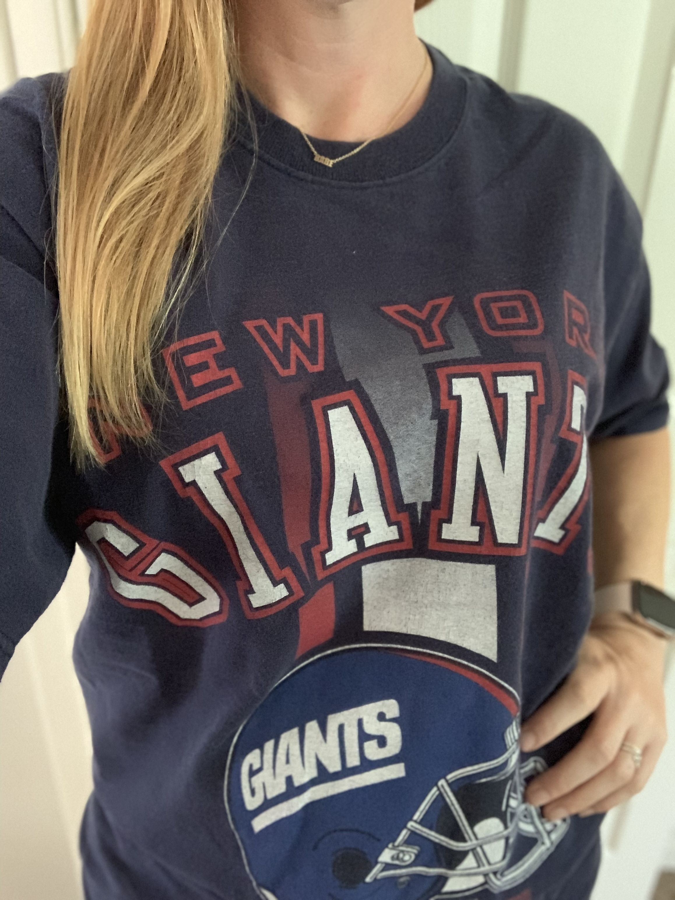 Sold Vintage New York Giants All Over Print T Shirt New York Giants Football New York Giants Giants Football