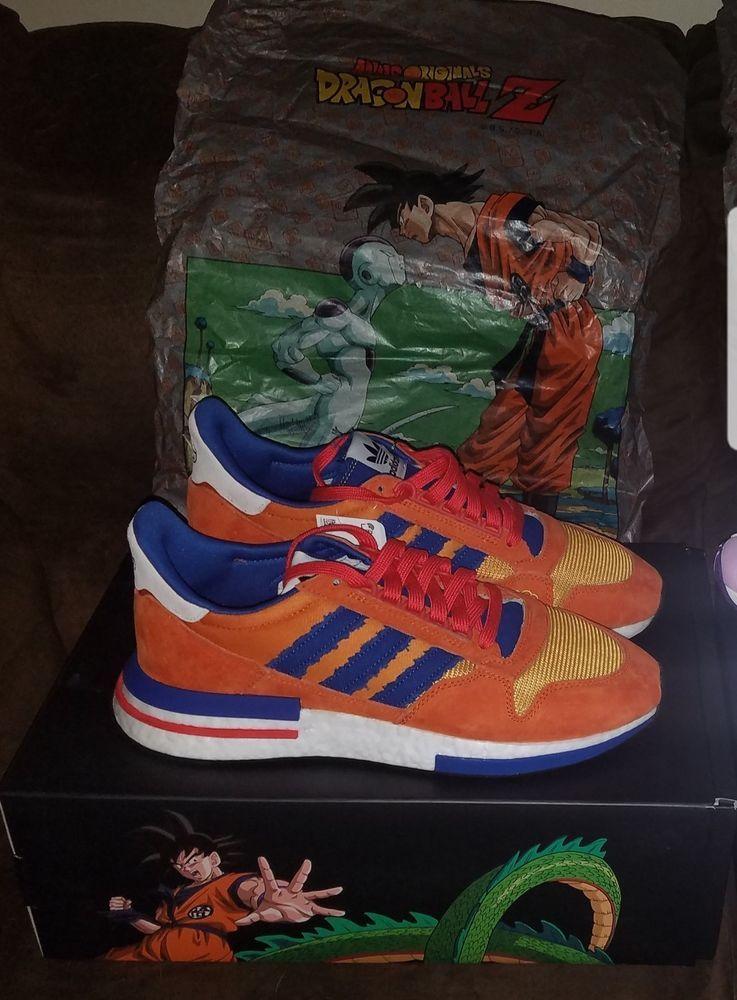 outlet store 6c6a1 41fd7 Adidas ZX 500 RM Dragon Ball Z Goku D97046 DEAD STOCK Mens 12
