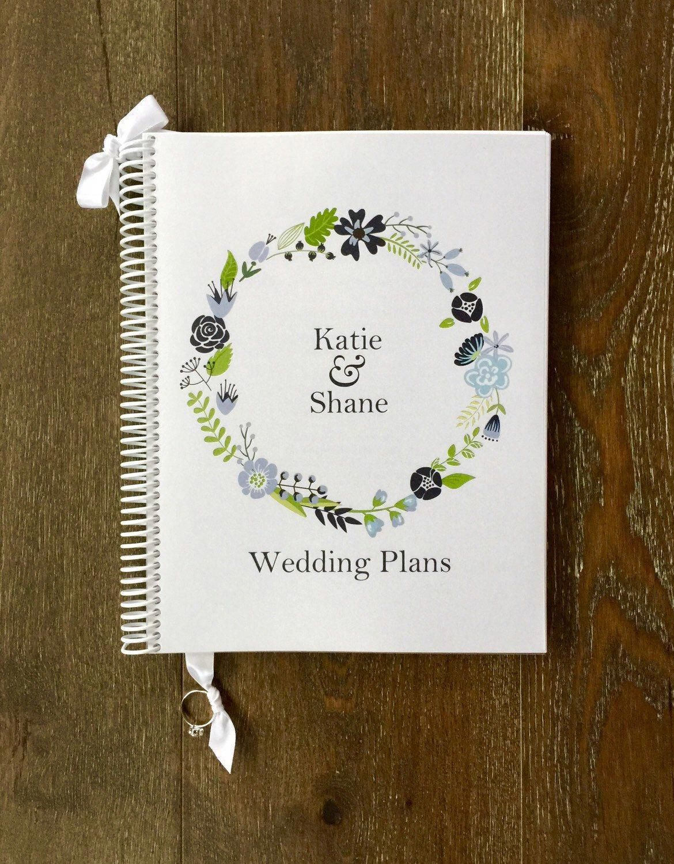 Wedding Planner Book Organizer Engagement Gift Planning Guide Keepsake