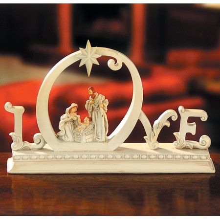 Christian Christmas Figurines, Christmas Snow Globes ...