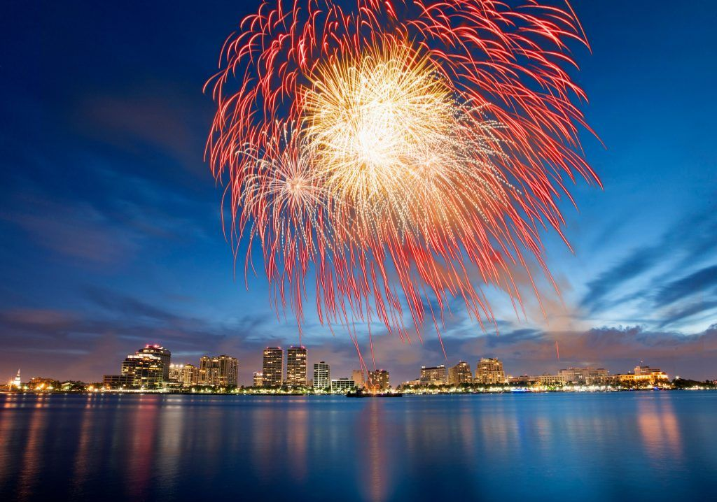 Where To Watch 4th Of July Fireworks In South Florida 4th Of July Fireworks Palm Beach Post Fireworks