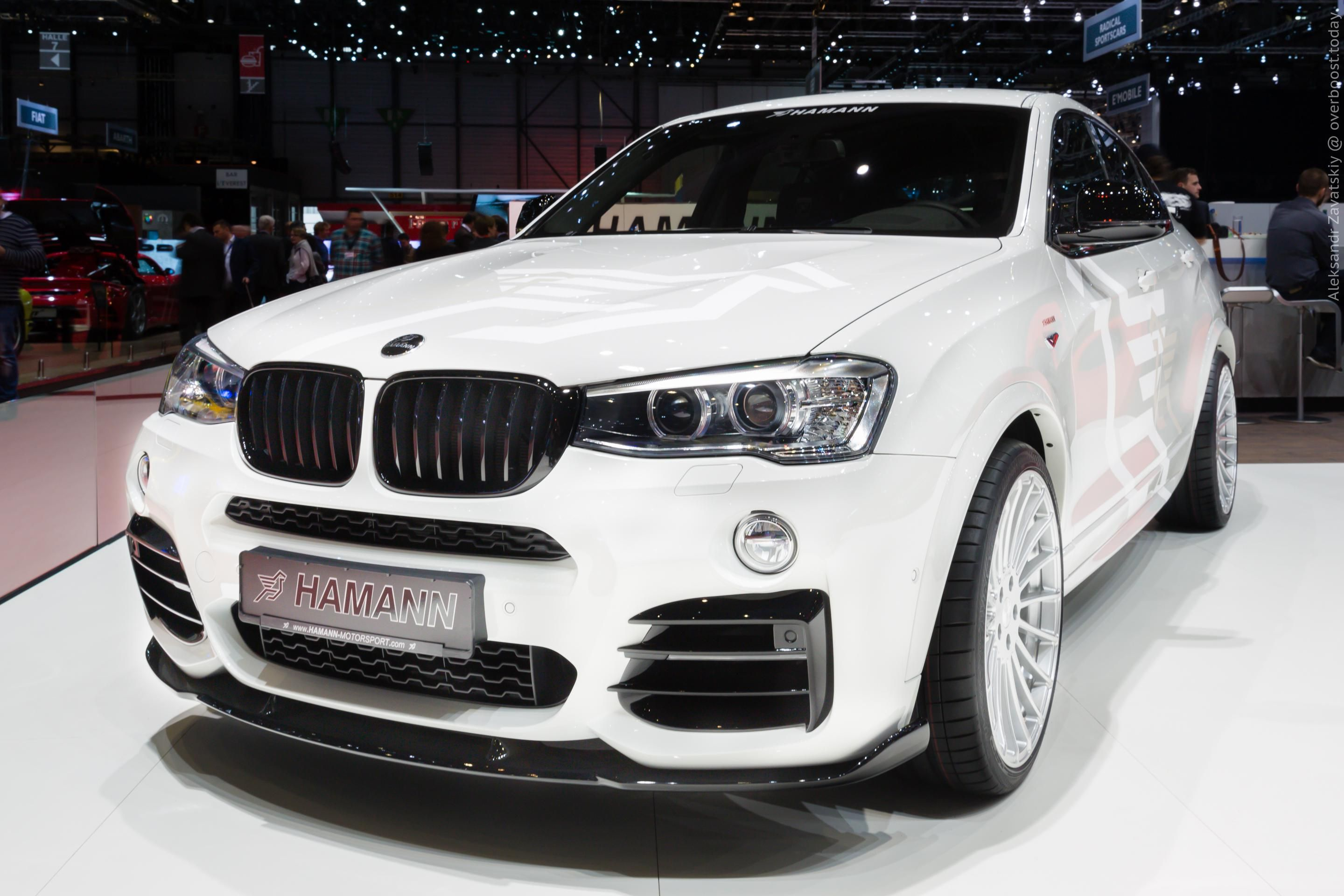 2016 bmw x4 hamann 2016my bmw hamann bmw x4. Black Bedroom Furniture Sets. Home Design Ideas