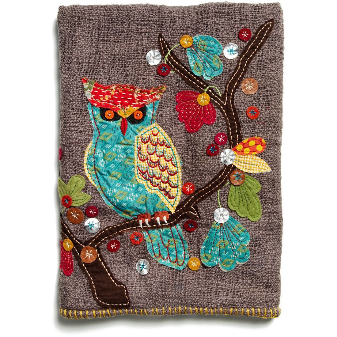 Cottage Home Woodland Owl Chocolate Throw
