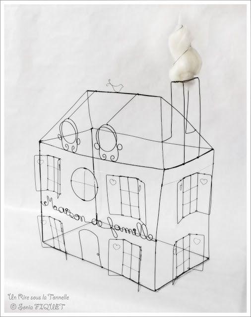 wire art by un rire sous la tonnelle  u00a9 sonia fiquet