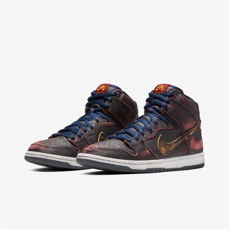 Nike Sb Dunk High Pro Nba Men S Skate Shoe Black Nike Dunks Mens Skate Shoes Nike Sb Dunks