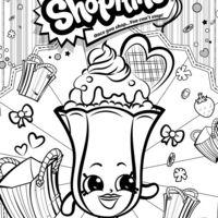 desenho de shopkins sunday para colorir coloring pages pinterest