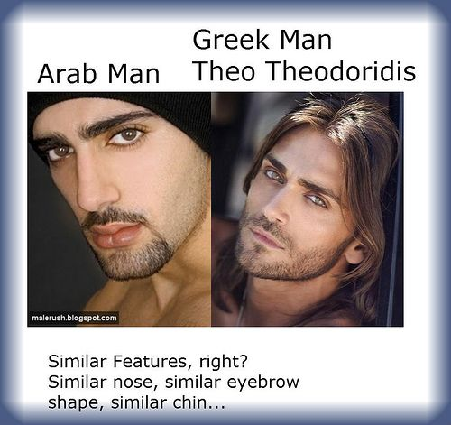 Arabian facial features