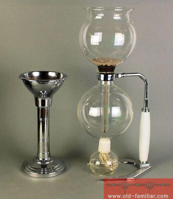 rare coffee machine cafetiere hellem 8 tasses art nouveau design. Black Bedroom Furniture Sets. Home Design Ideas