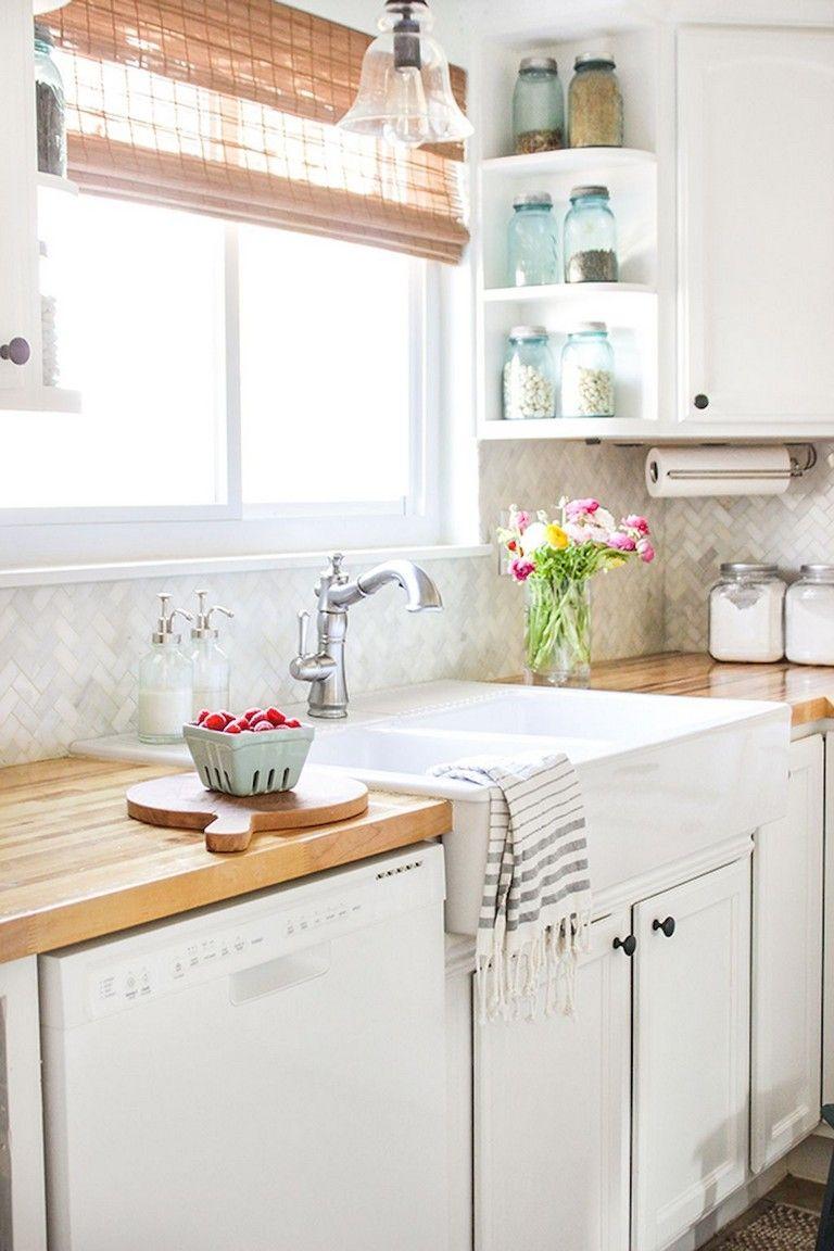 57+ Inexpensive Farmhouse Kitchen Ideas On a Budget