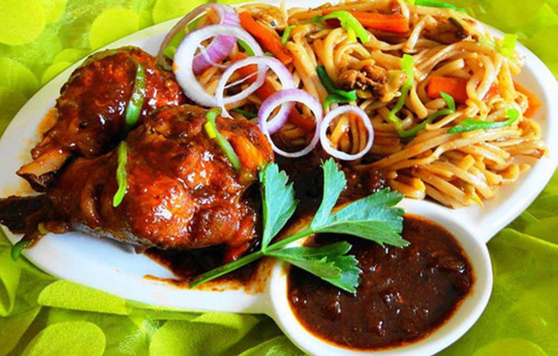 Surinam food noodles with chicken recipe recipes youtube surinam food noodles with chicken recipe forumfinder Images