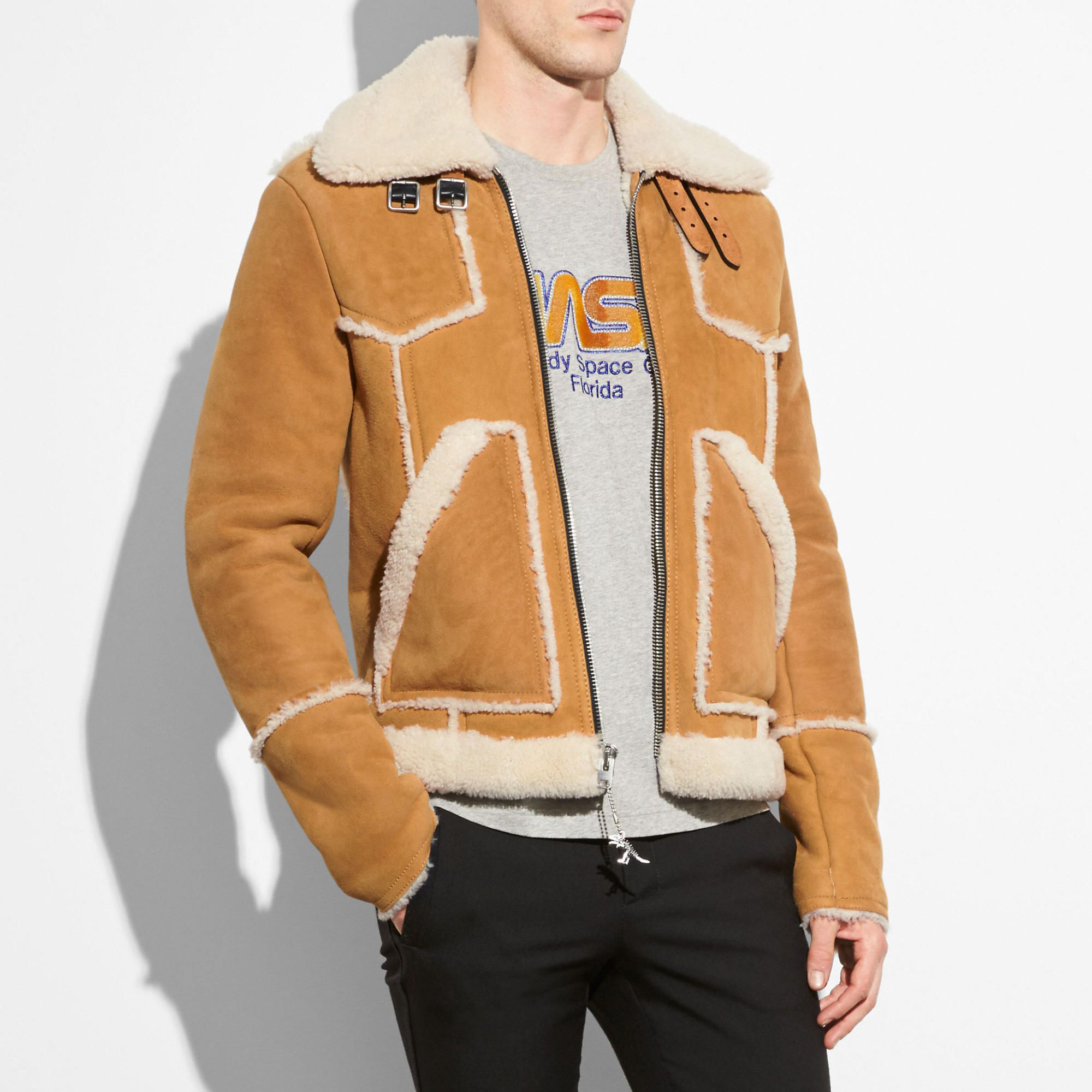Pin By Modesens On Style Shearling Jacket Designer Clothes For Men Jackets [ 2000 x 2000 Pixel ]