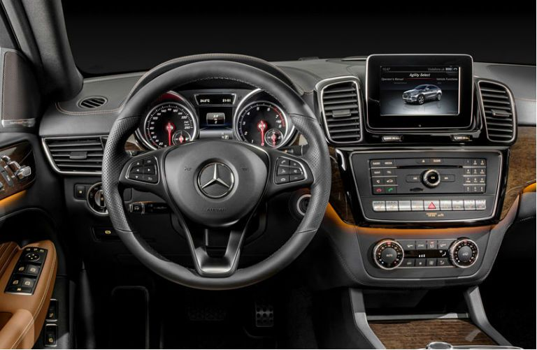 2016 Mercedes Benz Gle 450 Amg Sport Coupe Interior Comand