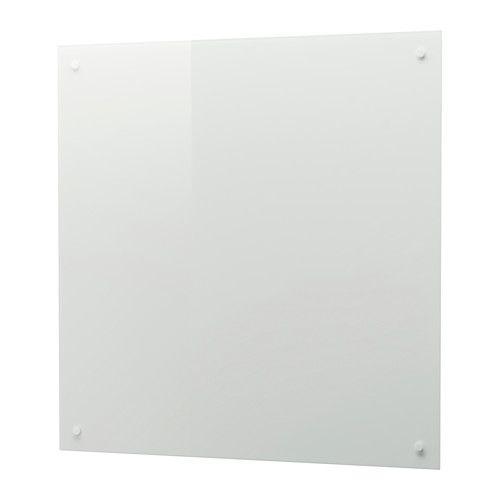 ISHULT Wandpaneel maßgefertigt, weiß Glas Küche Pinterest - k che wandpaneel glas