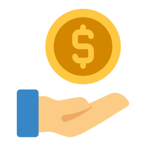 Money Bag Payment Icon Money Png Money Blue Coin Flat Design Money Bag Money Bag Png Money Icons