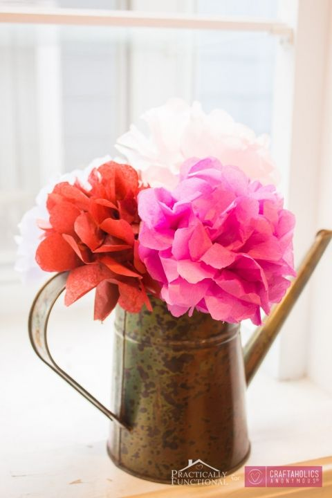 Diy tissue paper flowers tutorial tissue paper flowers tissue diy tissue paper flowers tutorial mightylinksfo