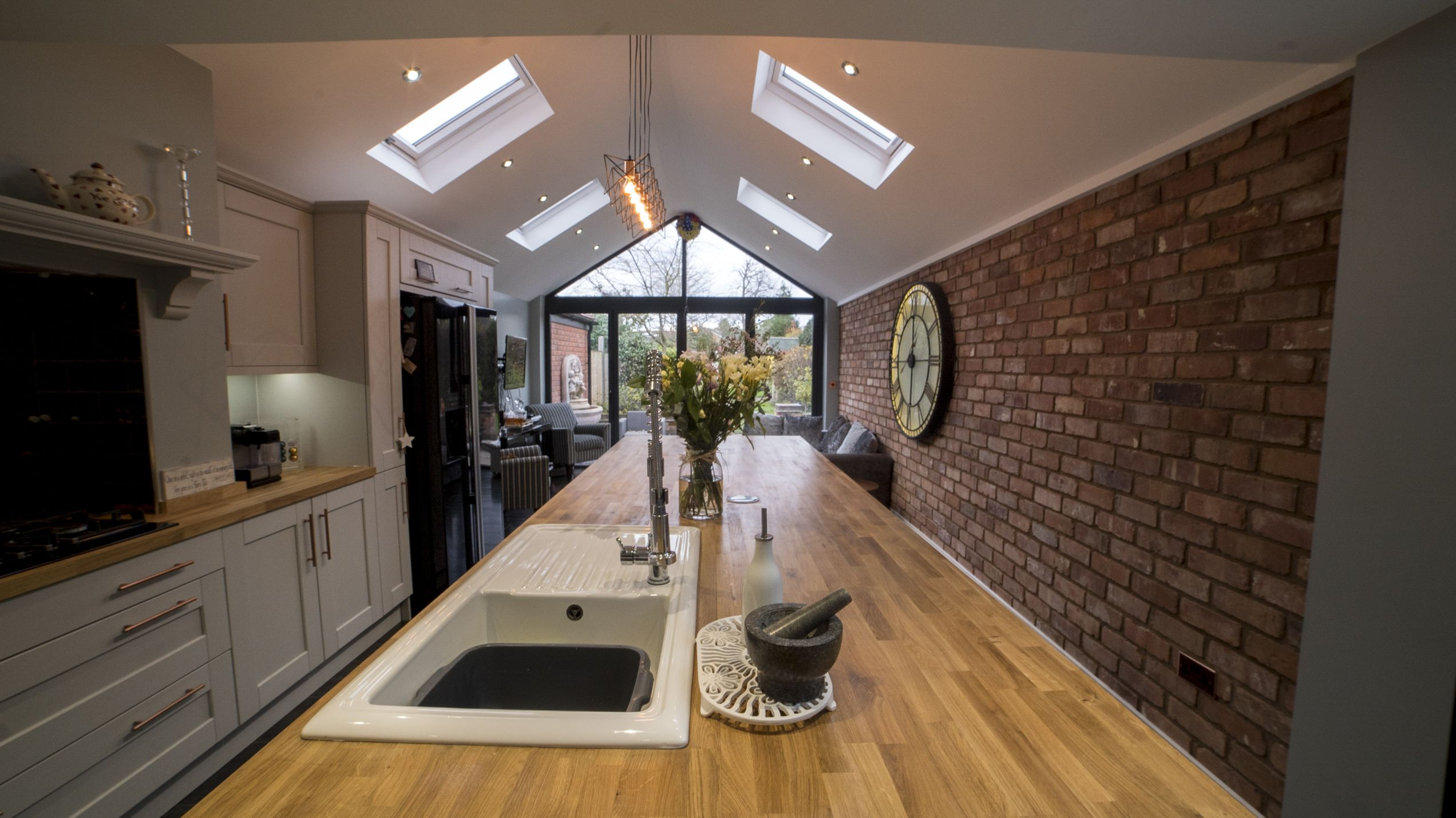 Best Kensington Light Grey Dust Grey Shaker Kitchen In 400 x 300