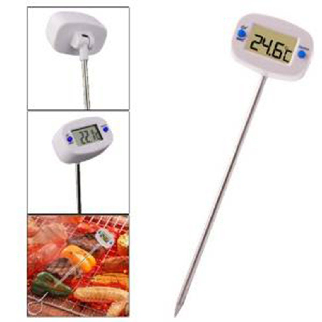 Hot Digital Probe Cooking Thermometer Food Temperature Sensor For