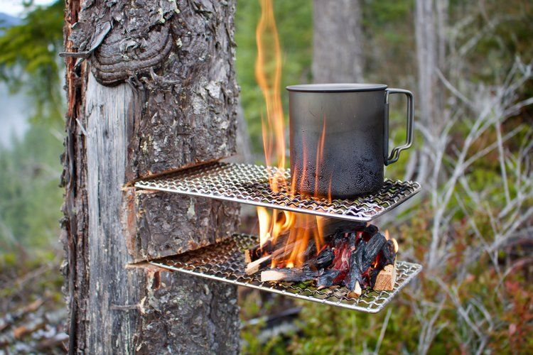 Photo of Bushcraft Grill — Expedition Research LLC