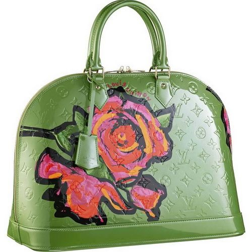 0c5faa173599 Louis Vuitton Stephen Sprouse Collection Alma Mm Roses M93688 Bgr ...