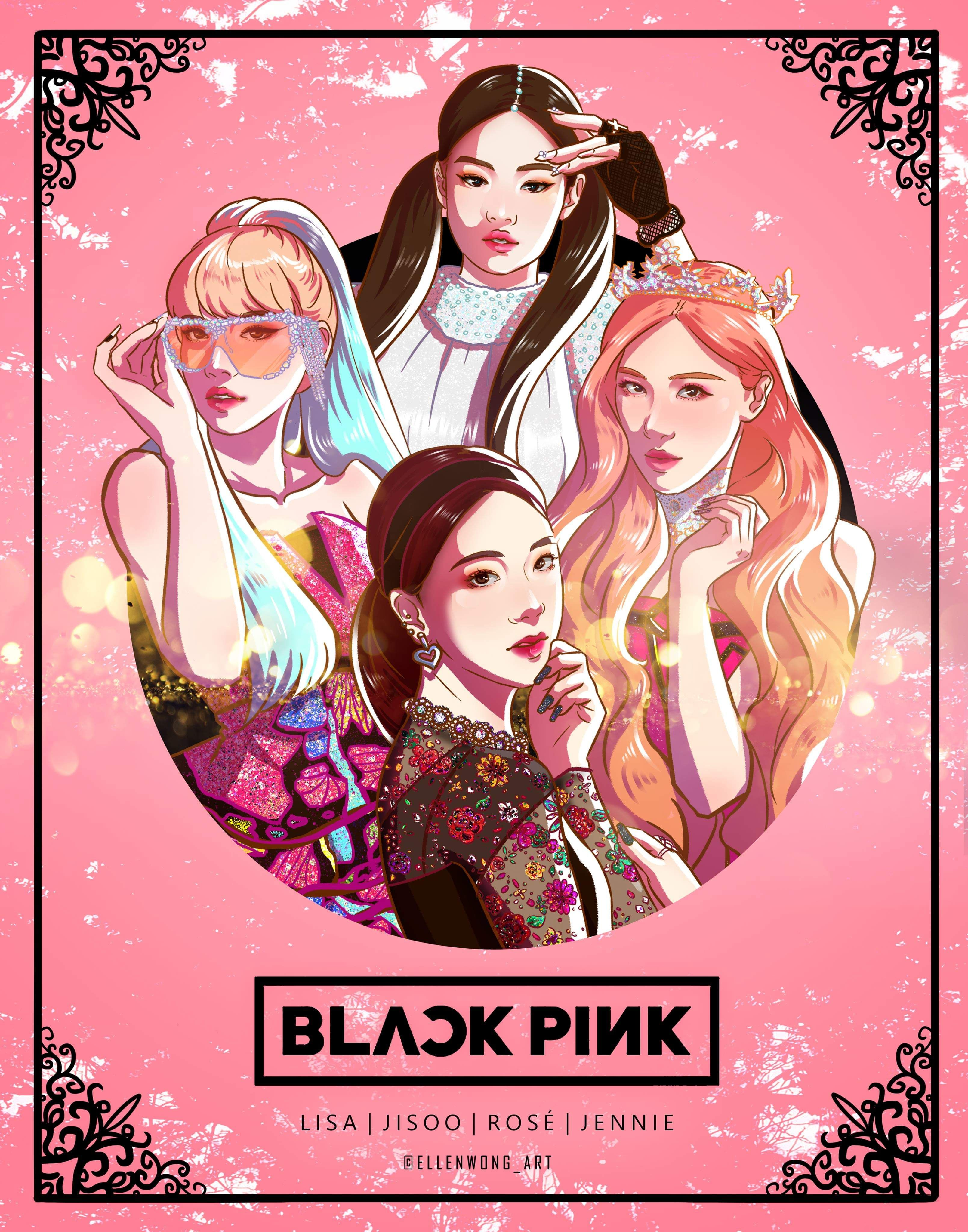 190407 Fanart of Blackpink KILL THIS LOVE MV/ IG