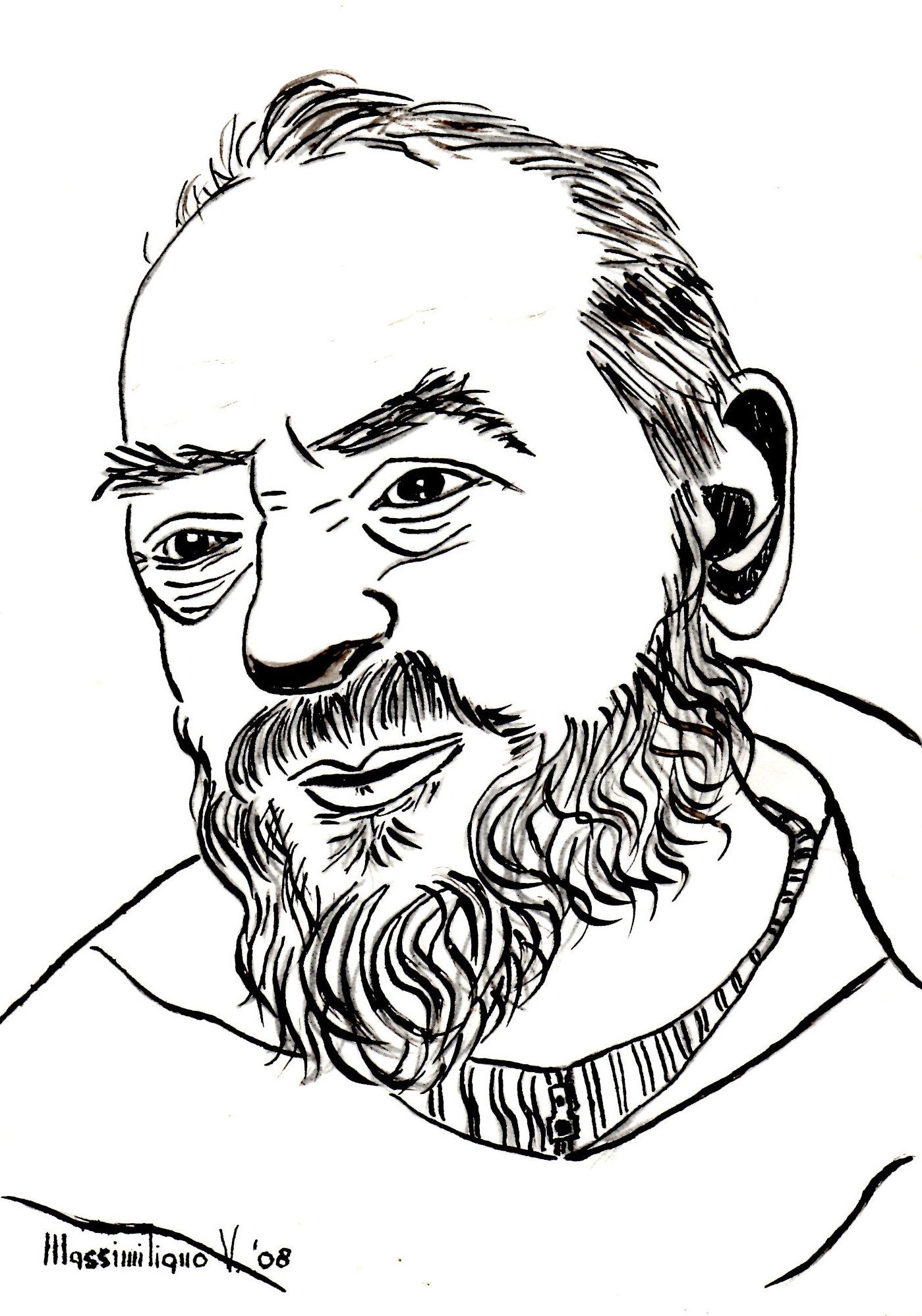 Image Result For Padre Pio Coloring Page Disegni Angeli