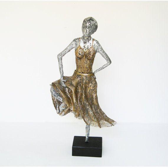 Contemporary art statues for home decor