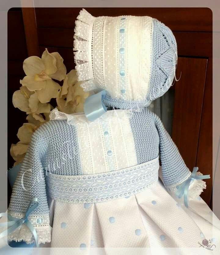 Canastilla artesanal vestidos nina pinterest - Canastilla artesanal bebe ...