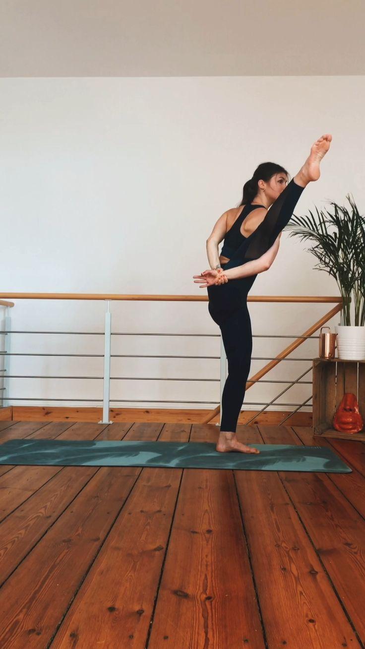 Hamstring stretch flow