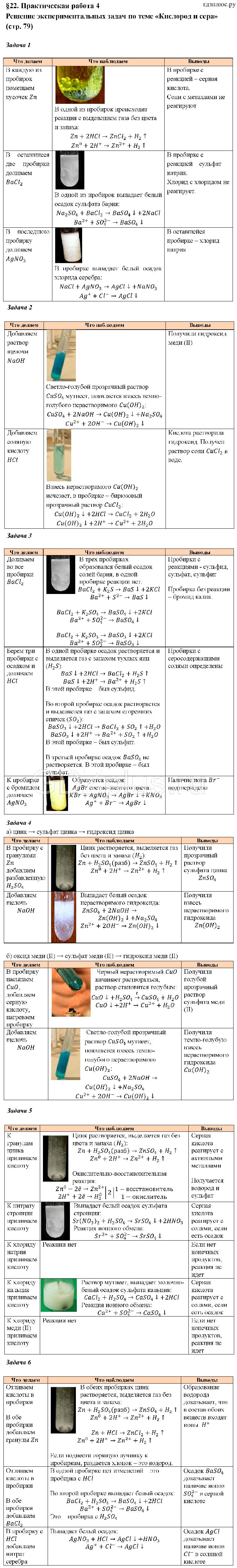 Экспериментальные задачи по химии с решением методика решения актуальных задач