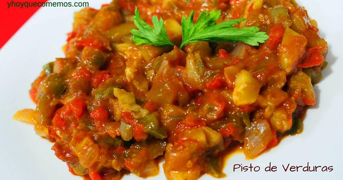 Pisto de verduras para dieta