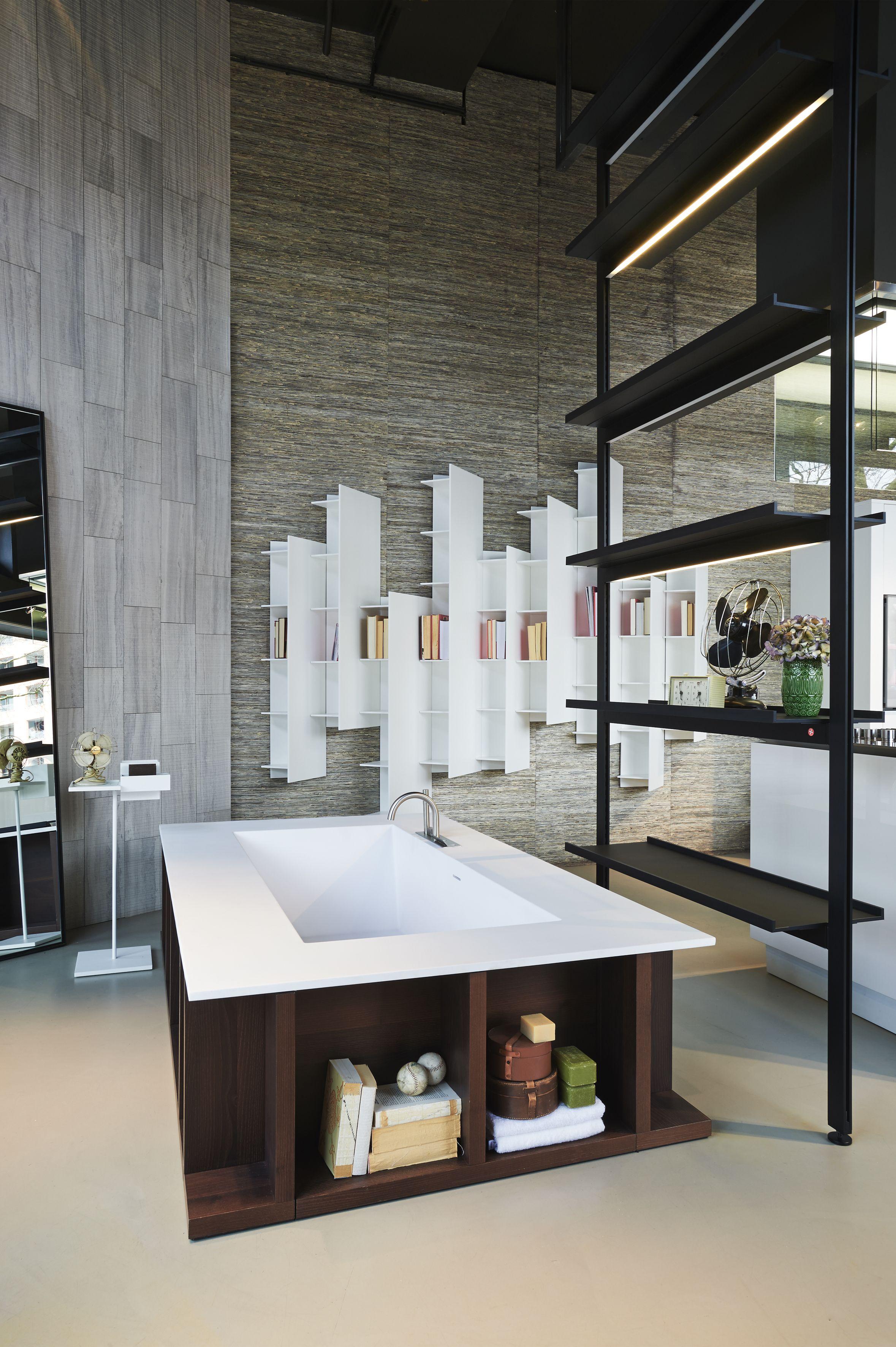 Dis Studio showroom in Amsterdam , Boffi Swim bath, Boffi Brompton ...