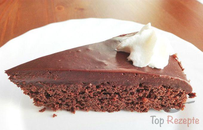 Schokoladen Nuss Torte Rezept In 2019 Kuchen Pinterest Cake