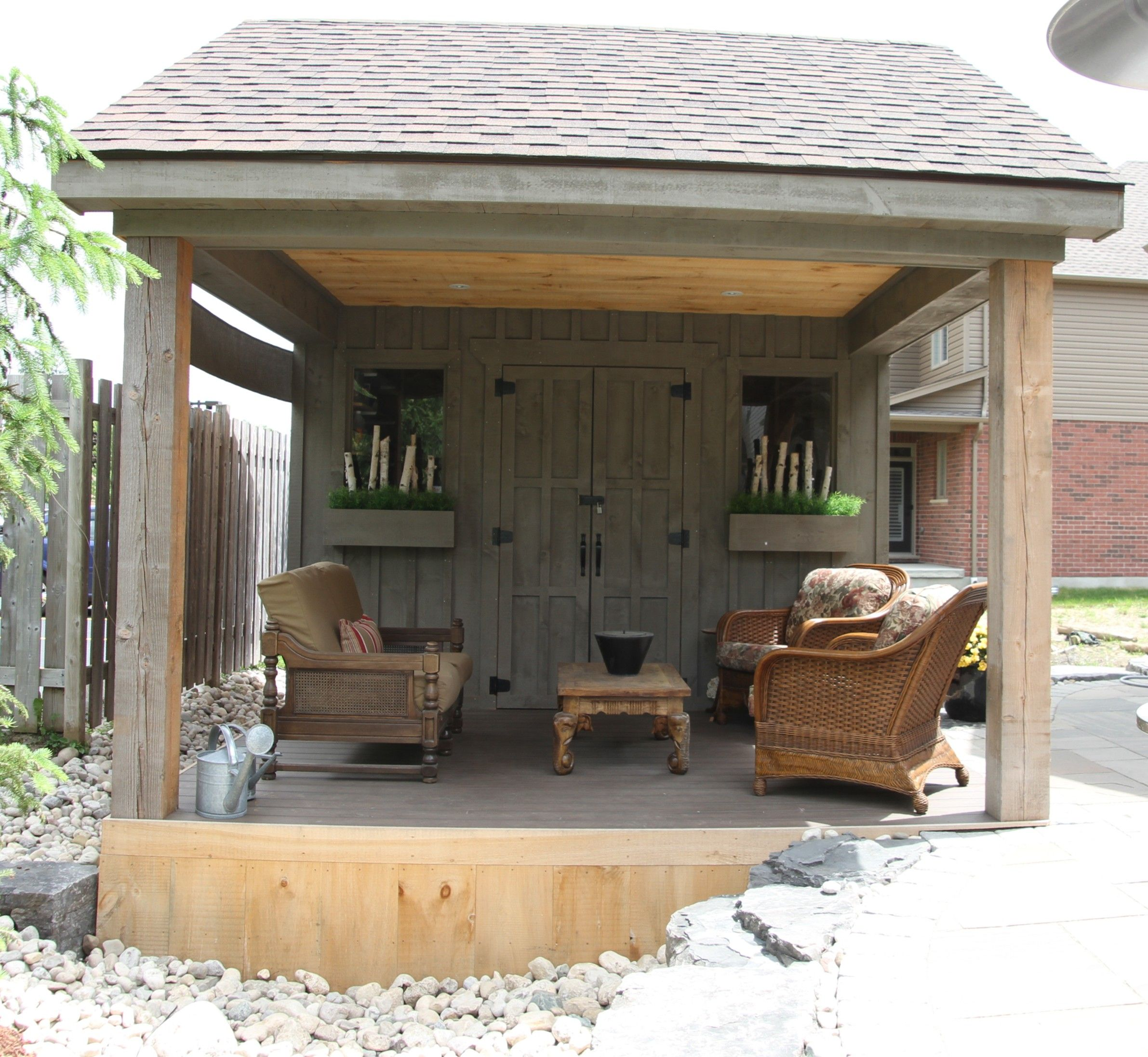 Choosing The Perfect Garden Shed: Our Cabana Is Finally Finished