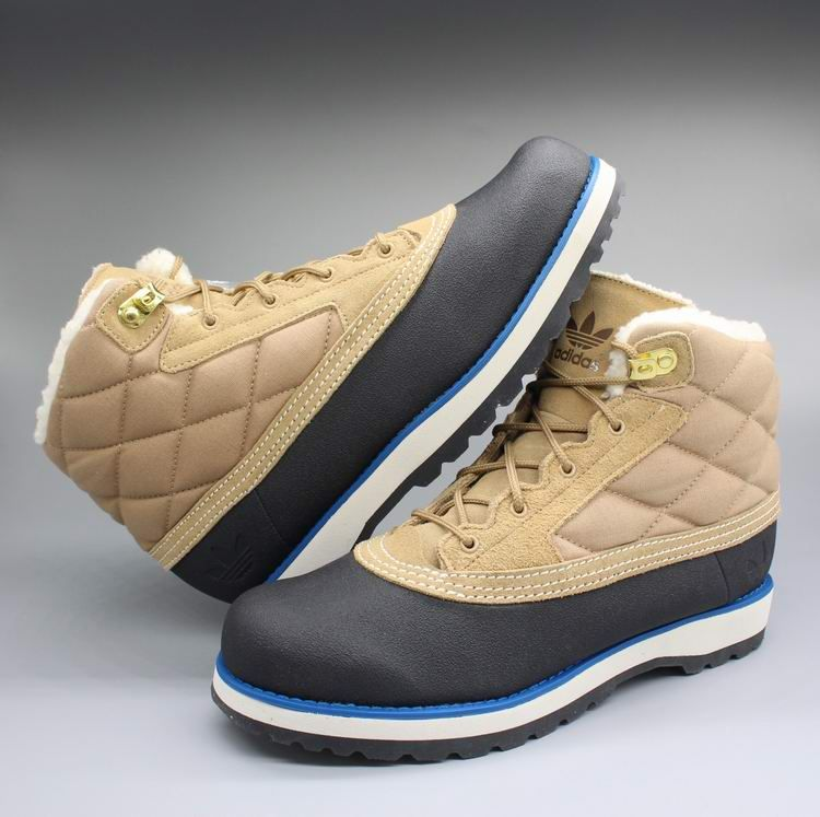 adidas fur boots. adidas originals adi navvy black light bone quilt fur boots g60557 #adidas #adidasboots # adidas fur boots i