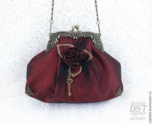 9e6dfc2b5df4 Женские сумки ручной работы. Ярмарка Мастеров - ручная работа. Купить  Вечерняя сумочка ручной работы