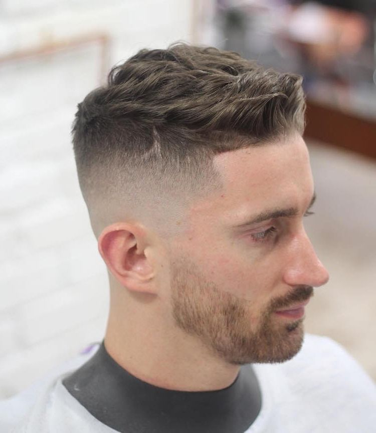 frisure mænd tykt hår