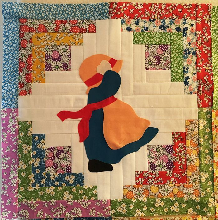 Sun bonnet sue quilt patterns free - Bing #sunbonnetsue