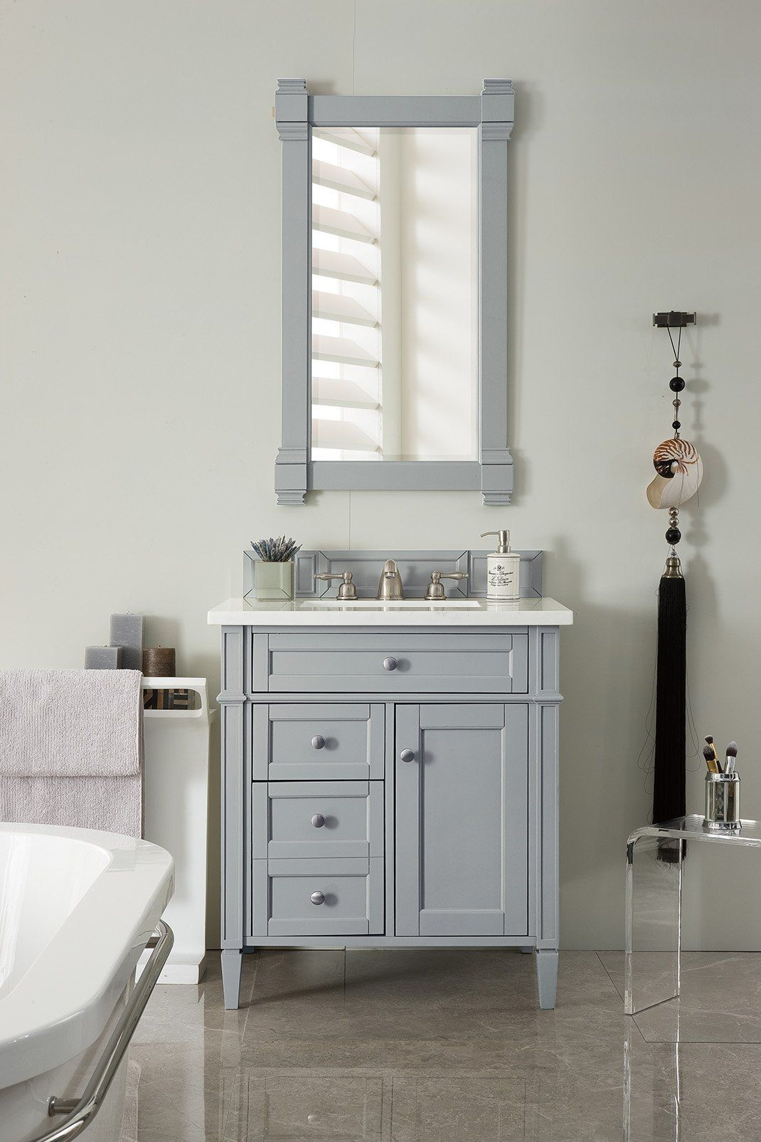 "brittany 30"" single bathroom vanity 