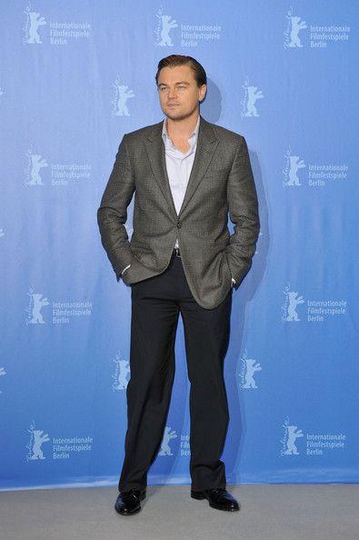 1cc731db822 Leonardo DiCaprio Blazer - Leonardo DiCaprio Clothes Looks - StyleBistro
