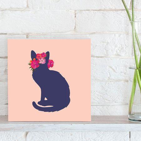 Quadro - Flower Cat - Decohouse