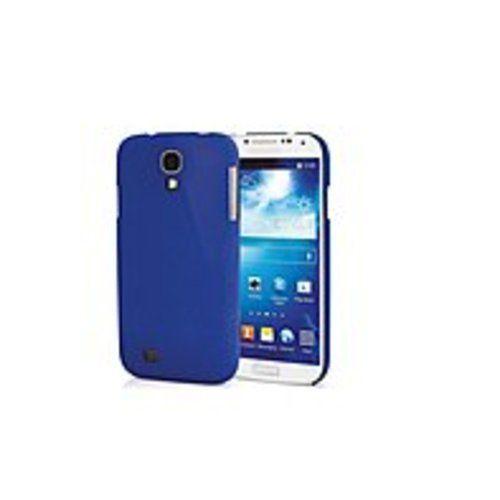 V7 PD19BLU-14N Metro Anti-Slip Case for Galaxy S4 Sand Finish Semi-Flexible Phone Case - Smartphone - Blue - Textured - Sand - Polycarbonate Plastic