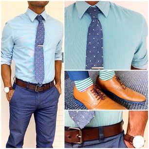 Azul zapatos Pantalon Camisa marron marrones cinturon verde 8agxw1xq