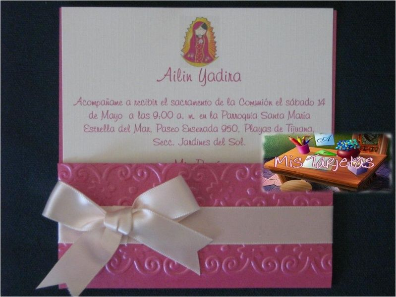 Detalle De La Imagen De Invitaciones Tarjetas Religiosas