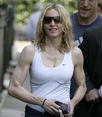 New York City's 10 healthiest celebrities Madonna body