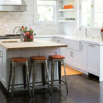 evars and anderson   kitchens   benjamin moore   decorators white   tolix stool white cabinets white kitchen cabinets white quartz counte  orange accents transitional kitchen benjamin moore decorators      rh   pinterest com