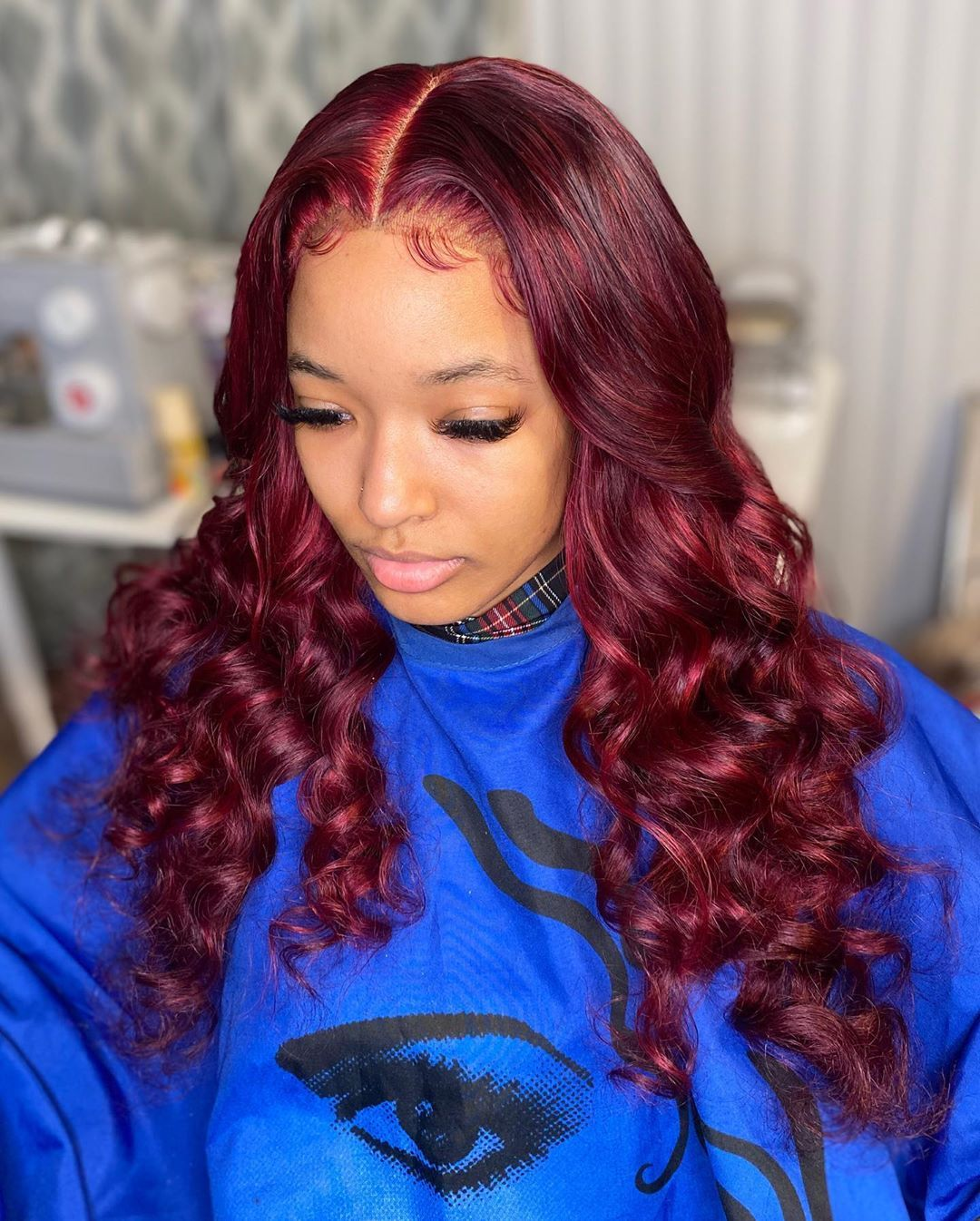 22+ Red lace front wig hairstyles trends