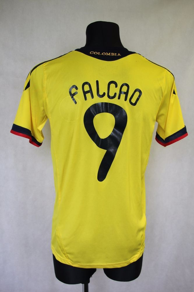 hot sales afb76 ea709 Colombia National Team 2011/2013 Home Shirt Jersey Adidas ...