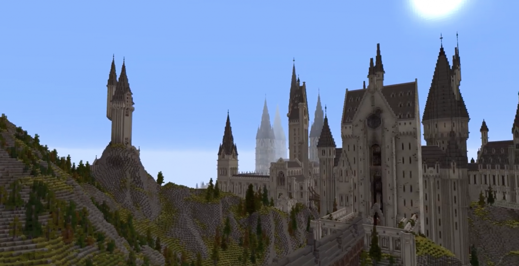 Modders Build Amazing Harry Potter Rpg Within Minecraft Trusted Reviews Harry Potter Rpg Harry Potter Potter