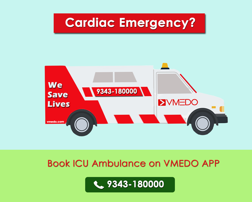 Book the nearest Advanced Life Support ambulance to handle